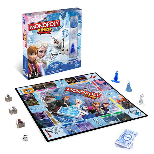 Настольная игра Hasbro Monopoly - Монополия, артикул:137262