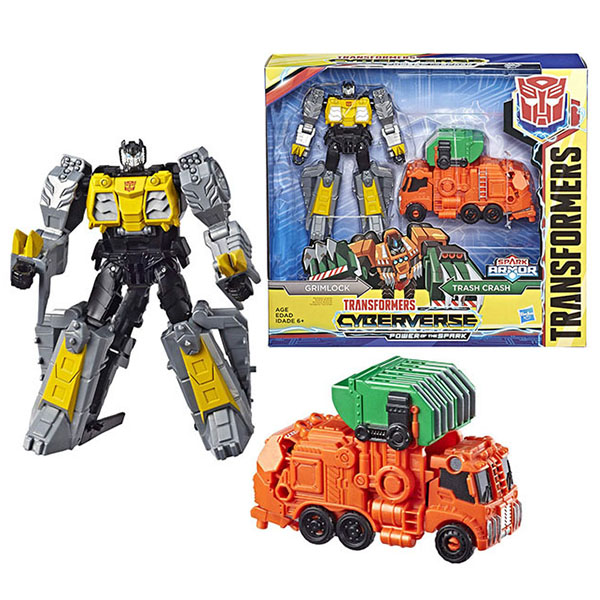 Игровые наборы и фигурки для детей Hasbro Transformers E4220/E4330 Трансформеры Спарк Армор Глимрок 18 см фото
