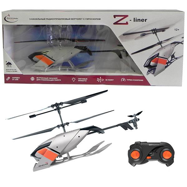 Властелин Небес BH3376 Вертолет р/у Z-Liner, 3-канальный - Радиоуправляемые модели