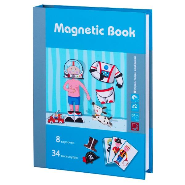 Купить Magnetic Book TAV029 Развивающая игра Интересные профессии , 42 детали, Настольные игры Magnetic Book