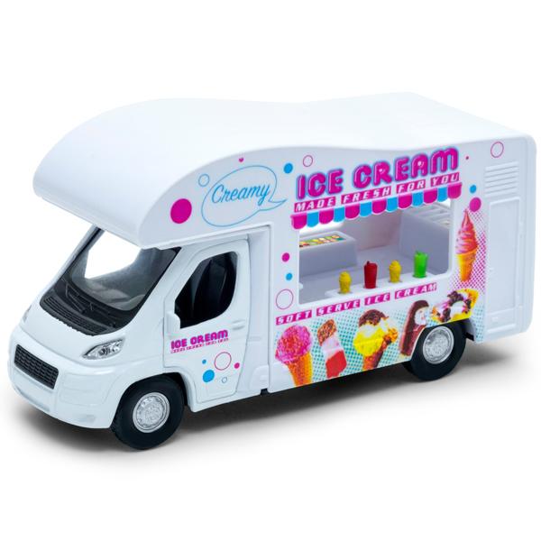 Купить Welly 92659 Велли Модель машины Ice cream Van, Машинка Welly