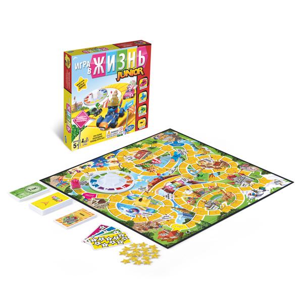 Купить Hasbro Other Games B0654 Настольная игра Моя первая игра - Игра в жизнь, Настольная игра Hasbro Other Games