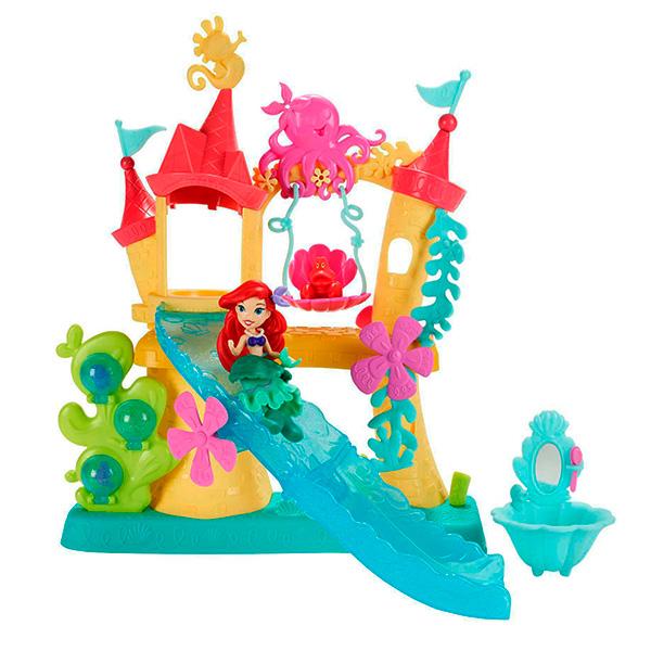 Купить Hasbro Disney Princess B5836 Замок Ариель для игры с водой, Кукольный домик Hasbro Disney Princess, Hasbro Disney Princess