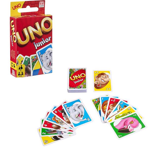 Купить Mattel Games 52456 УНО для детей, Настольная игра Mattel Games