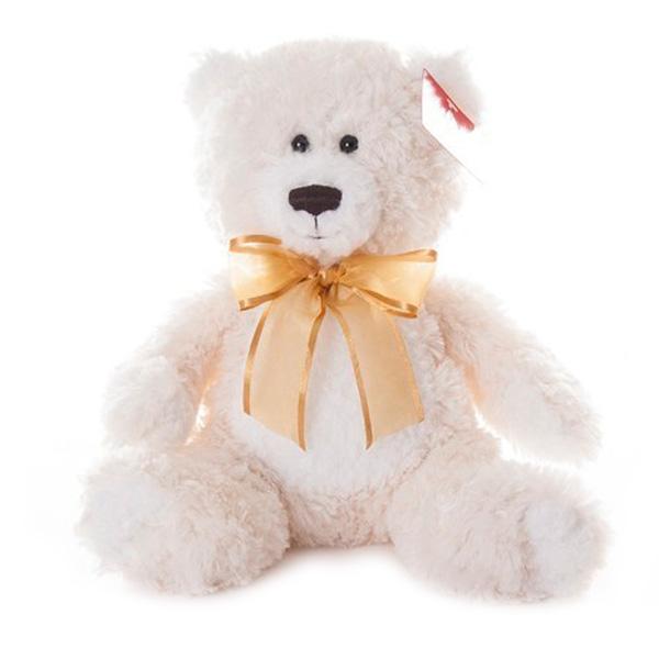 Купить Aurora 15-329 Аврора Медведь кремовый, 20 см, Мягкая игрушка Aurora