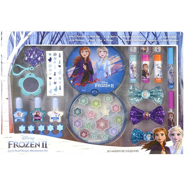 Купить Markwins 1599013E Frozen Игровой набор детской декоративной косметики для лица и ногтей, Косметика для девочек Markwins