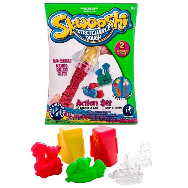 Пластилин Skwooshi