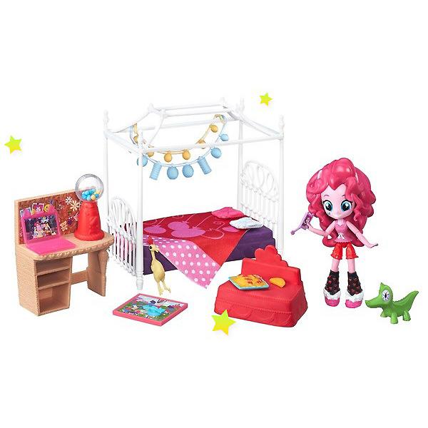 Купить Hasbro My Little Pony B8824 Equestria Girls Игровой набор кукол Пижамная вечеринка (в ассортименте), Игровые наборы и фигурки для детей Hasbro Equestria Girls