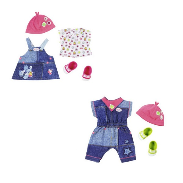 Купить Zapf Creation Baby born 824-498 Бэби Борн Одежда Джинсовая коллекция, Аксессуары для куклы Zapf Creation