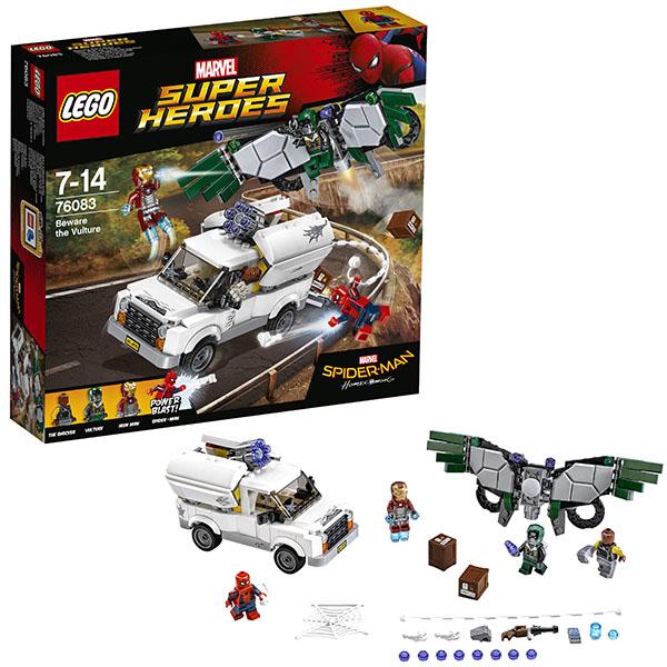 Купить Lego Super Heroes 76083 Лего Супер Герои Берегись Стервятника, Конструктор LEGO