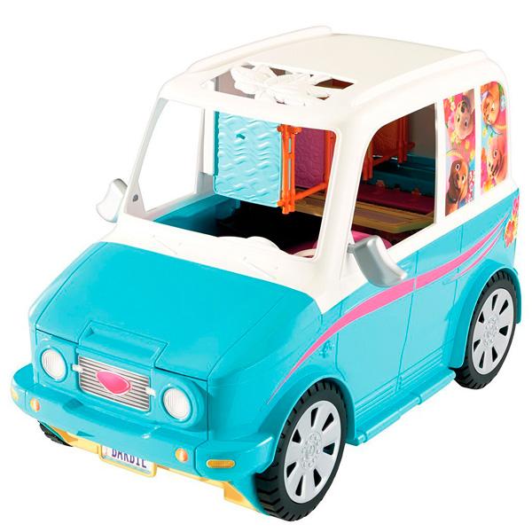 Купить Mattel Barbie DLY33 Барби Раскладной фургон для щенков, Игровой набор Mattel Barbie