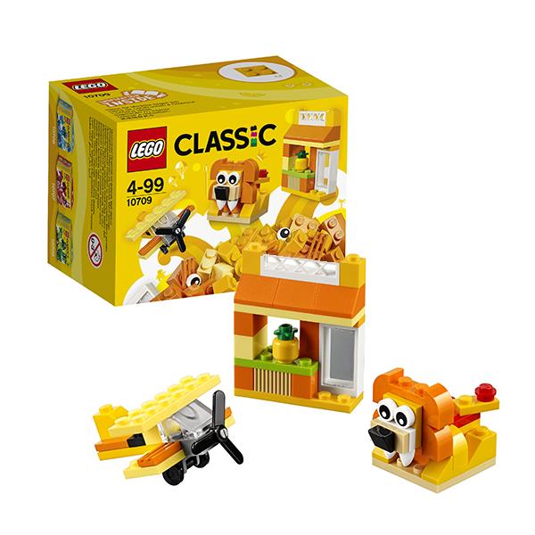 Купить Lego Classic 10709 Лего Классик Оранжевый набор для творчества, Конструктор LEGO