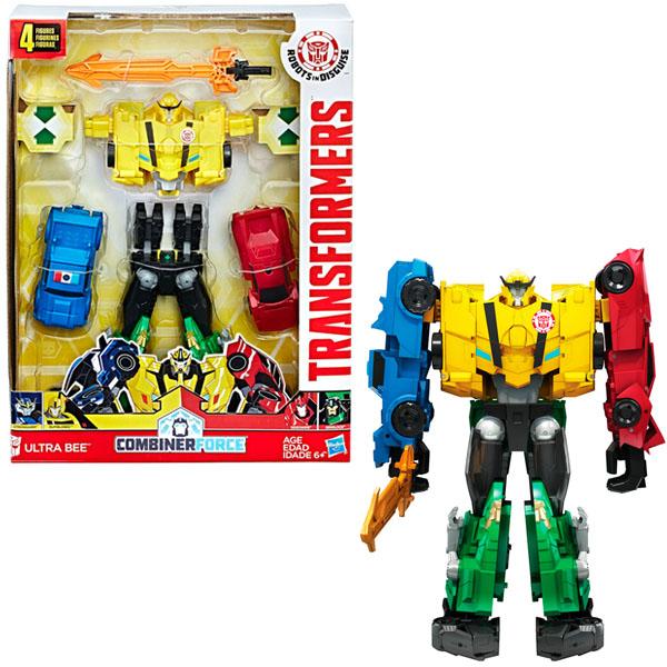 Купить Hasbro Transformers C0624 Трансформеры Роботы под прикрытием: Тим-Комбайнер, Трансформер Hasbro Transformers