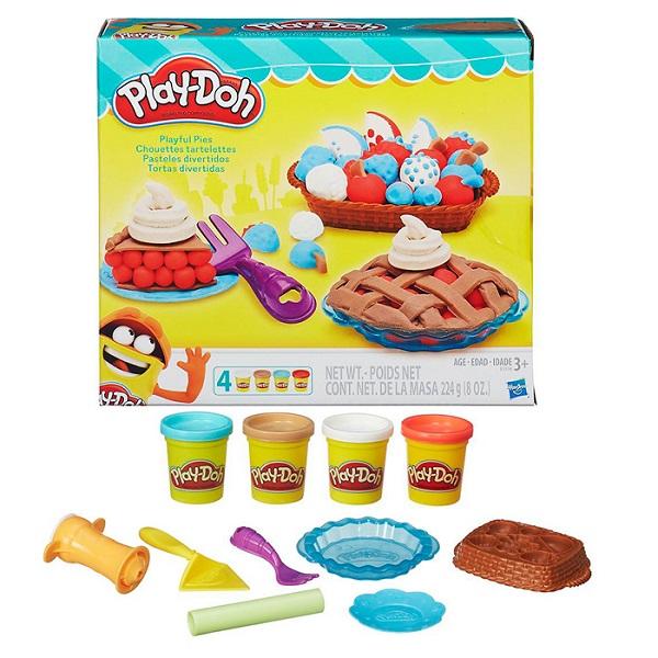 Купить Hasbro Play-Doh B3398 Игровой набор Ягодные тарталетки , Набор для творчества Hasbro Play-Doh