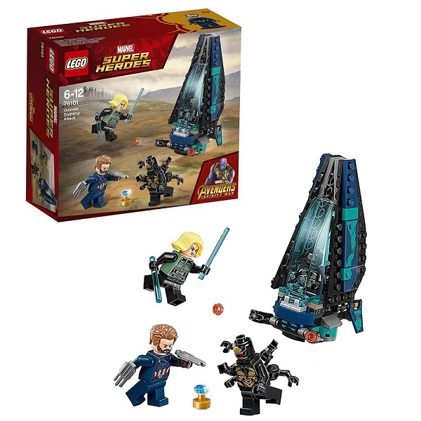 Купить LEGO Super Heroes 76101 Конструктор ЛЕГО Супер Герои Атака всадников, Конструкторы LEGO