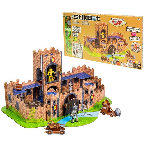 Купить Stikbot TST623C Стикбот набор Замок , Игровые наборы и фигурки для детей Stikbot