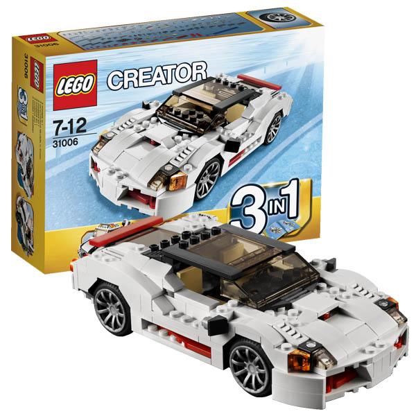 Lego Creator 31006 Лего Криэйтор Спидстеры (гоночный автомобиль/тягач)