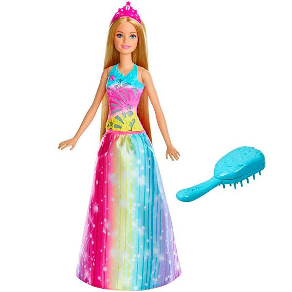 Mattel Barbie FRB12 Барби Принцесса Радужной бухты, Кукла Mattel Barbie  - купить со скидкой