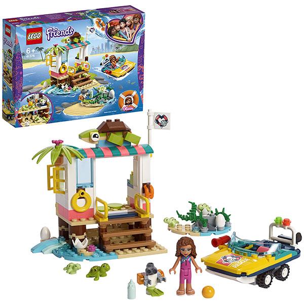 Конструкторы LEGO LEGO Friends 41376 Конструктор ЛЕГО Подружки Спасение черепах по цене 999
