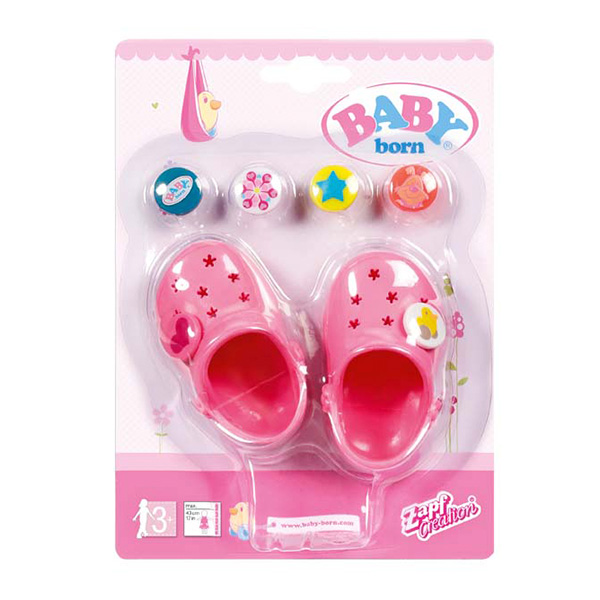 Купить Zapf Creation Baby born 822-067 Бэби Борн Сандали фантазийные (в ассортименте), Обувь для куклы Zapf Creation