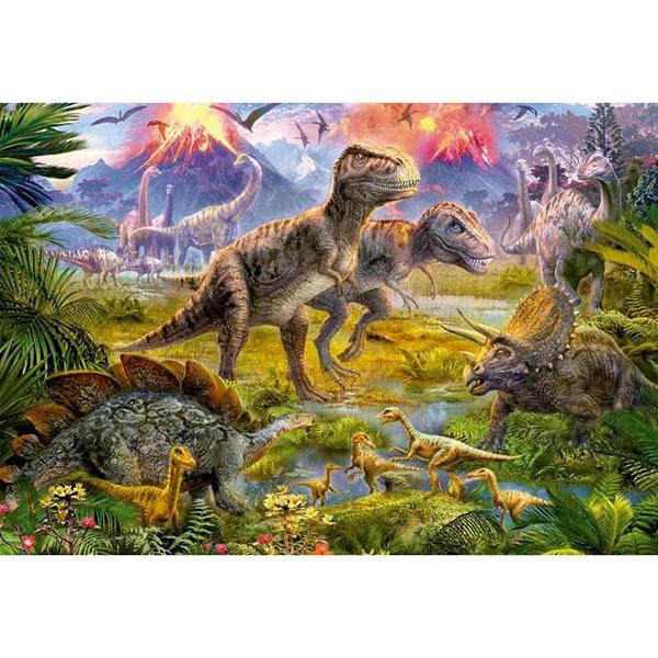 Educa 15969 Пазл 500 деталей Встреча динозавров - Настольные игры