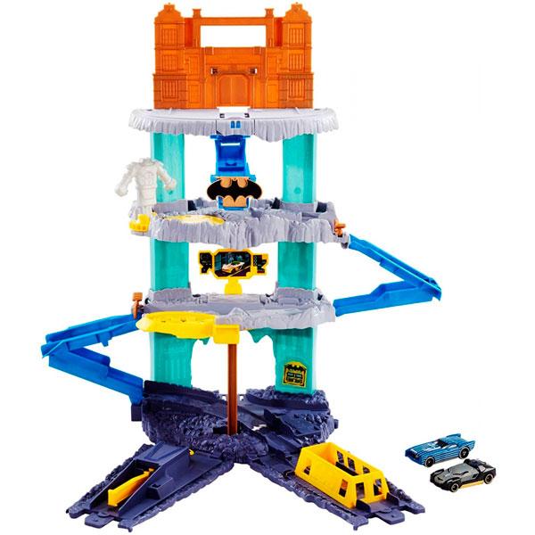 Mattel Hot Wheels FLP08 Хот Вилс Игровой набор Пещера Бэтмена