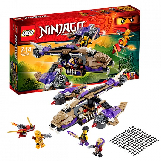 Лего Ниндзя Го Инструкция 70601 - фото 5